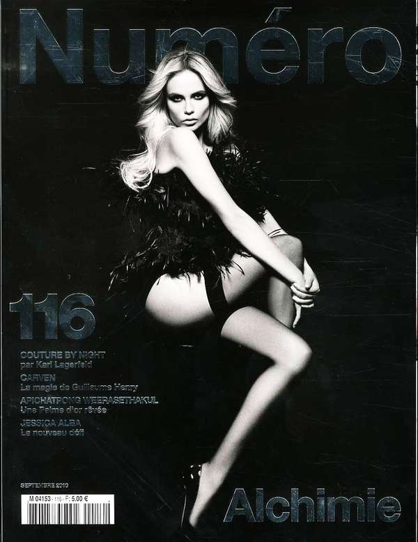 Natasha Poly for Numero #116 September 2010