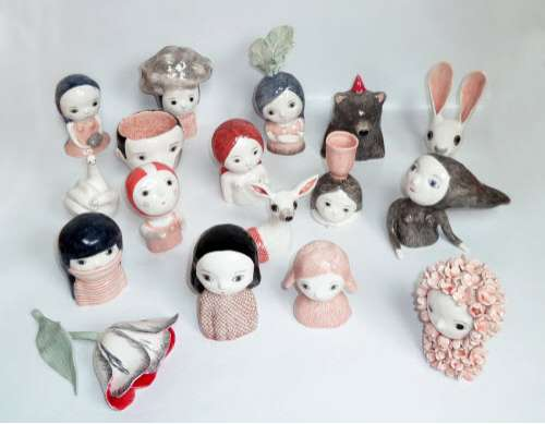 Surreal Ceramic Figurines