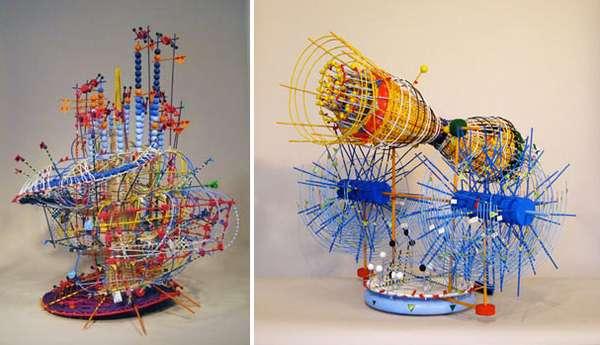 Tinker Toy Sculptures
