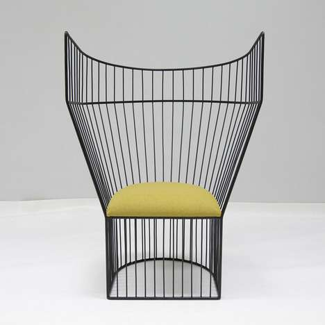 Cage-Like Chairs