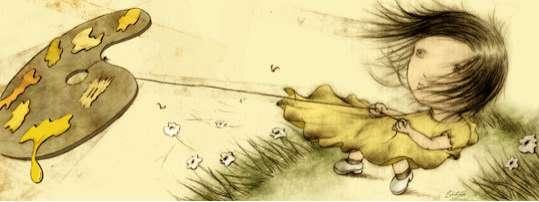 Kite-Flying Illustrations