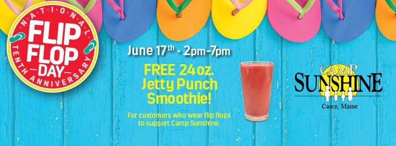 Footwear-Specific Smoothie Giveaways