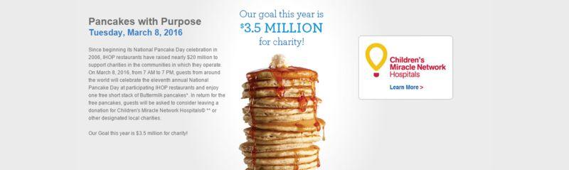 Free Pancake Promotions