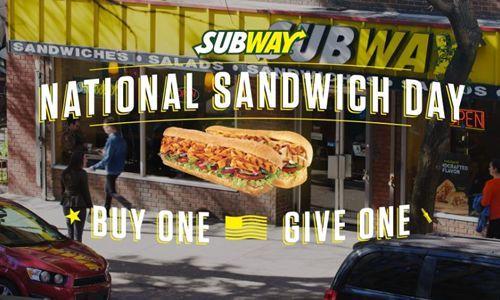 Celebratory Sandwich Promotions