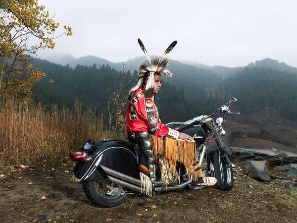 Culturally Attired Bikers
