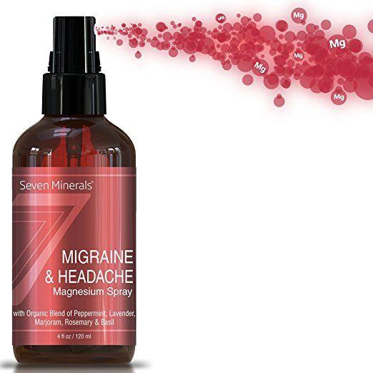 Magnesium Migraine Relief Sprays