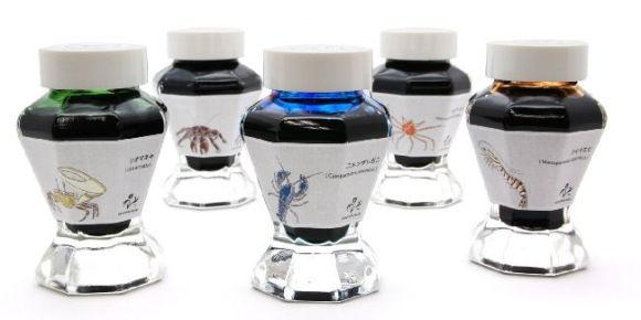 Crustacean-Based Inks