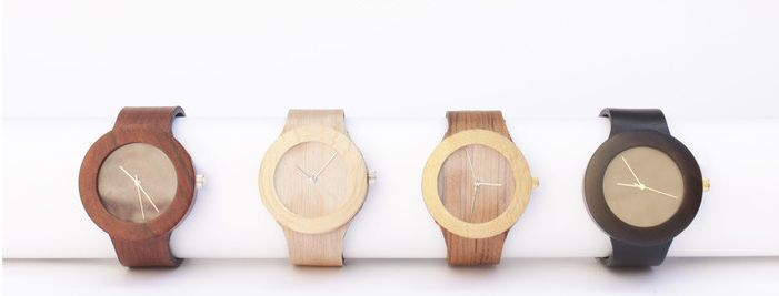 Flexible Wooden Watches