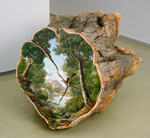 Tree Trunk Canvases