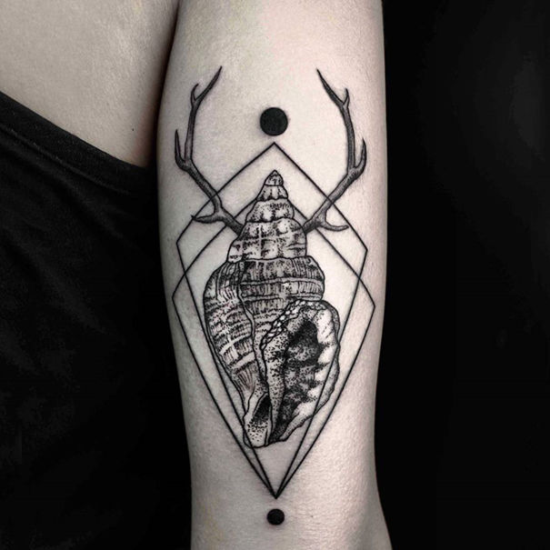 Geometric Nature Tattoos Nature Tattoos