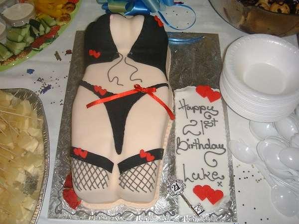 Raunchy Birthday Cakes