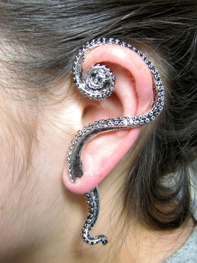 Coiled Tentacle Jewelry