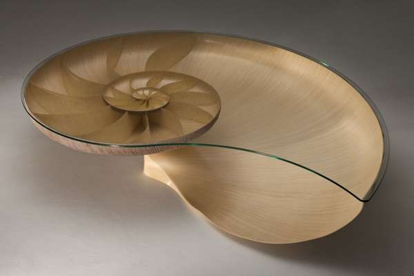 Sycamore Sea Shell Side Tables Nautilus Ii Table