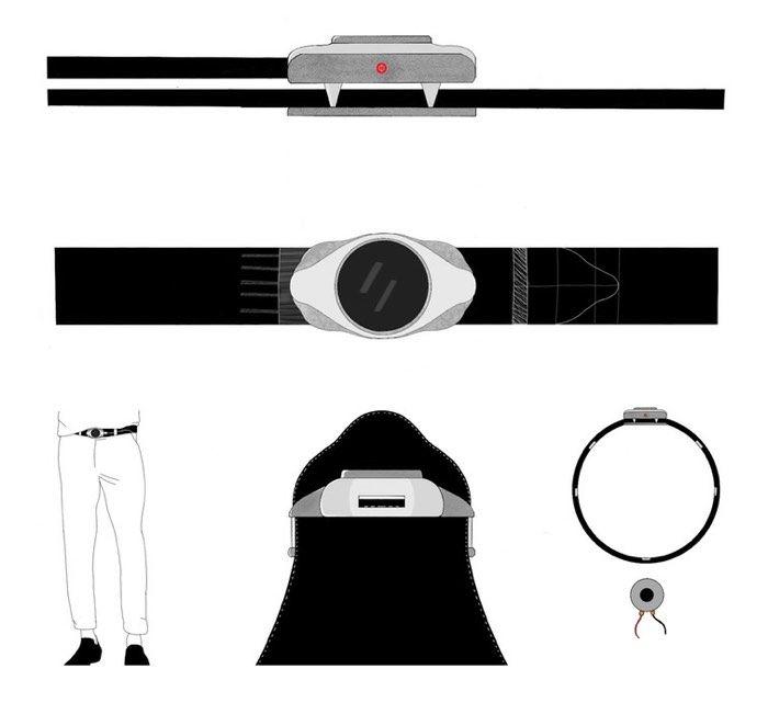 Vibrating Navigational Belts