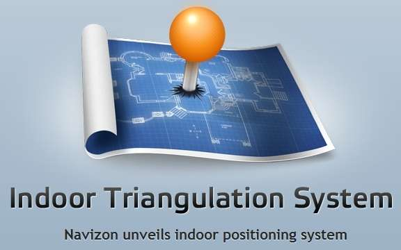 navizon indoor triangulation system