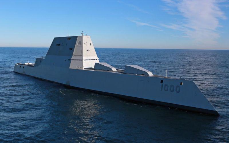 Gigantic Navy Warships