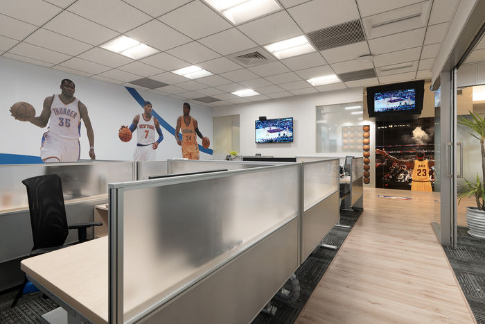 Basketball-Themed Offices