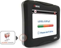 Booze Detecting GPS