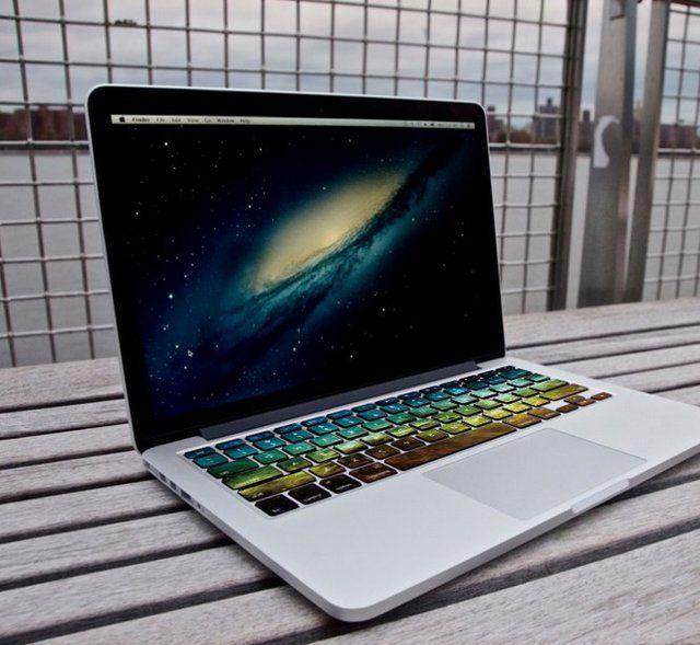 Galactic Keyboard Decals