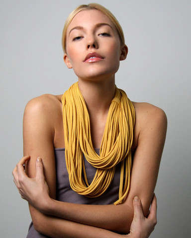 Necklace-Like Scarves