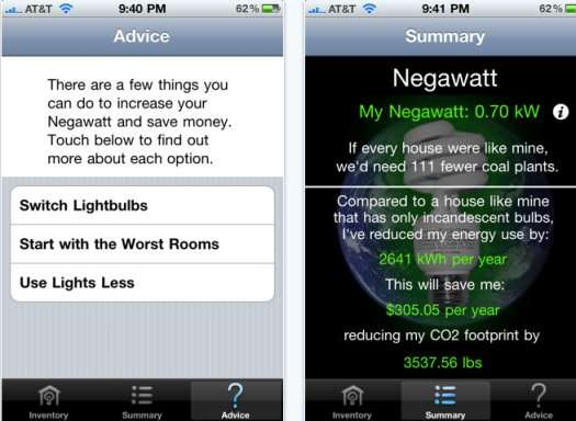 negawatt iphone app