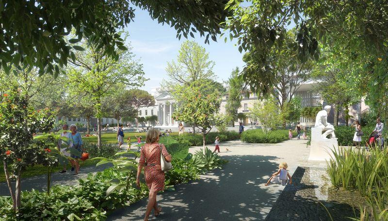 Multi-Building Neighborhoods Designs