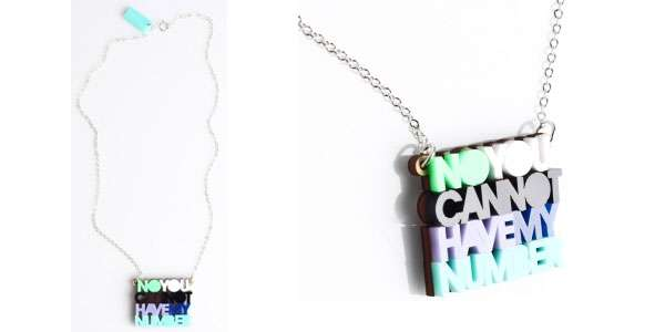 Colorful Rejection Jewelry