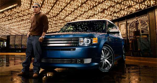 Rappers As Car Reps Nelly For Ford At Sema