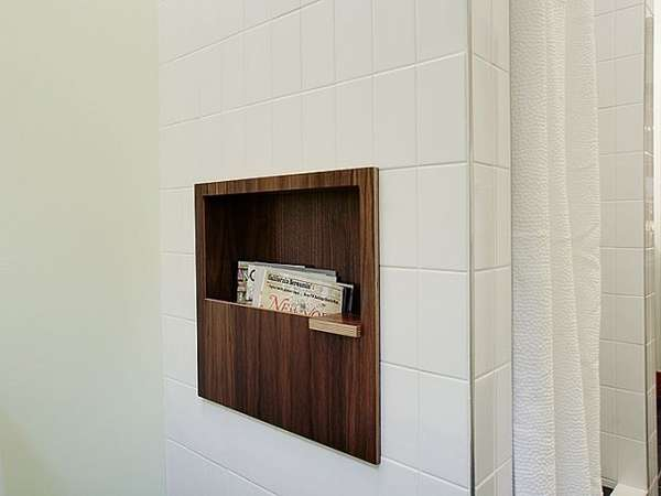 nelson bathroom magazine rack