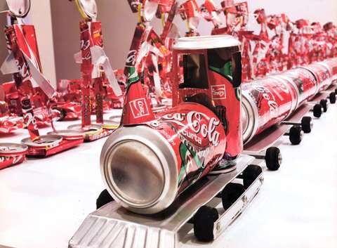 Nelson Leiner Coke Can