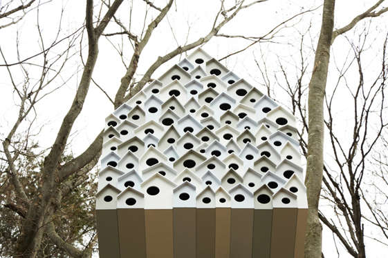 High-Density Birdhouses