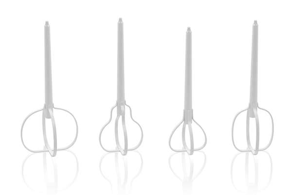 Nendo Fruit-Shaped Candle Stands