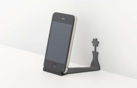 Unexpected Silhouette Smartphone Mounts