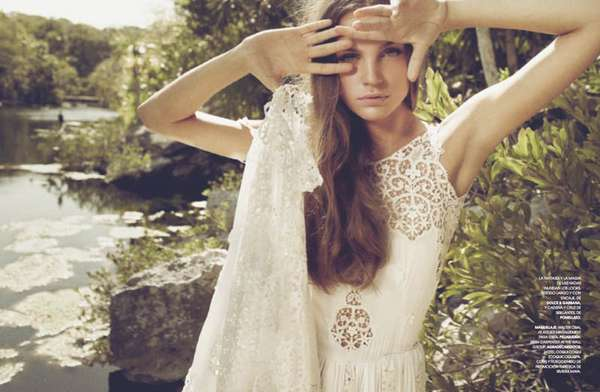 Romantic Lakeside Editorials