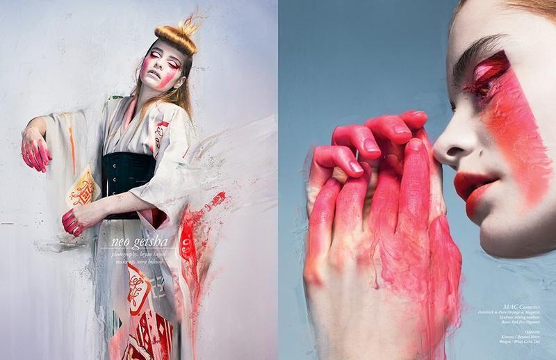 Neo Geisha Editorials