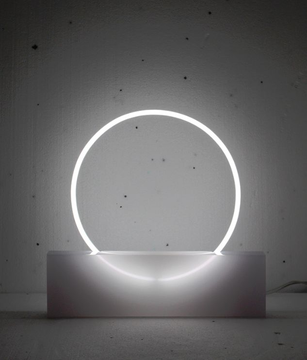 Circular Neon Lamps