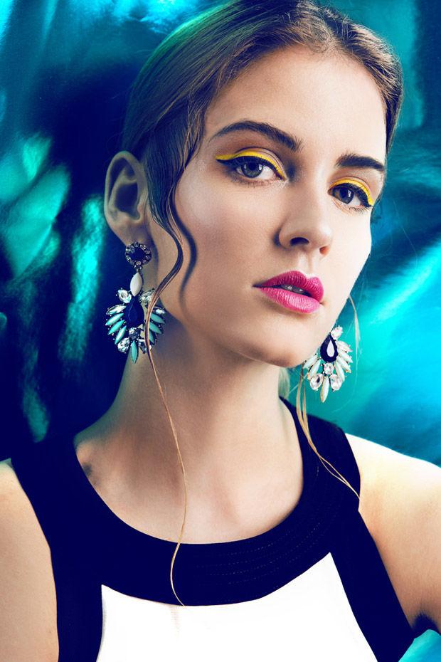 Neon Makeup Portraits