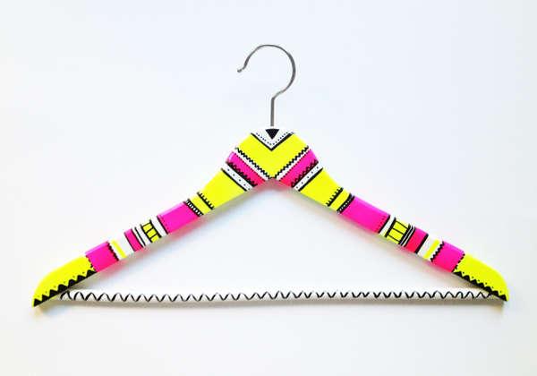 Neon-Patterned Hangers