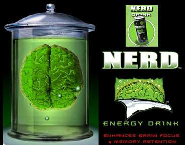 Nerd Energy Drink Increases Memory and Fuels Brain Power