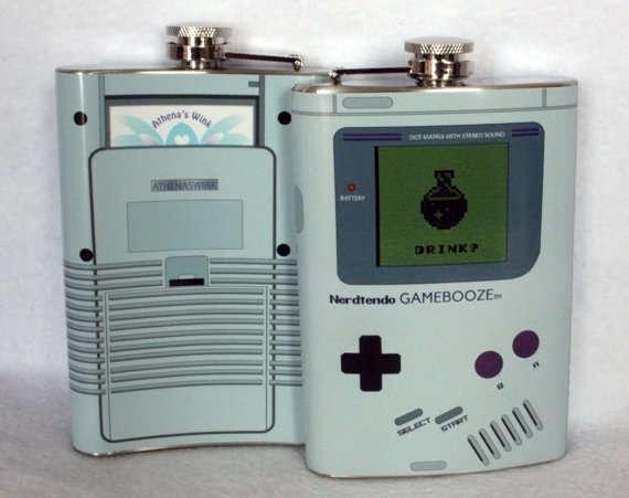 Retro Gamer Booze Dispensers