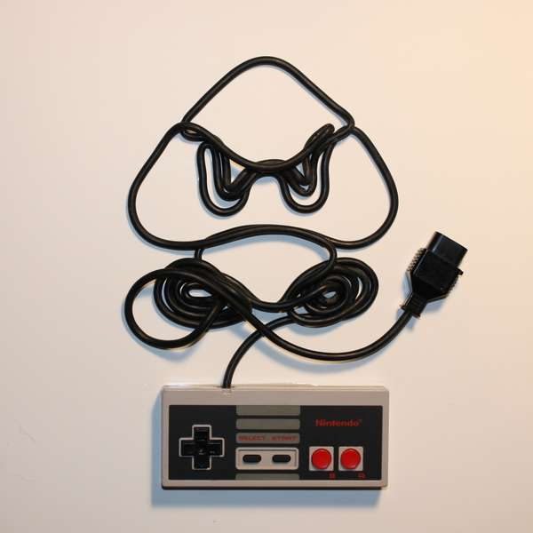 Retro Gaming Controller Art