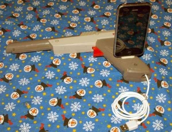 Duck Hunt iPod Docks