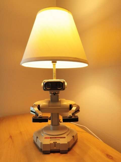 Robotic Gamer Lamps