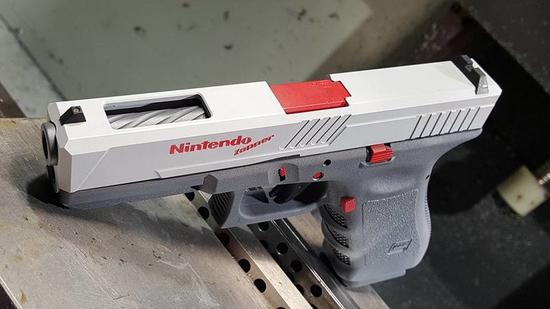 Video Game-Inspired Guns
