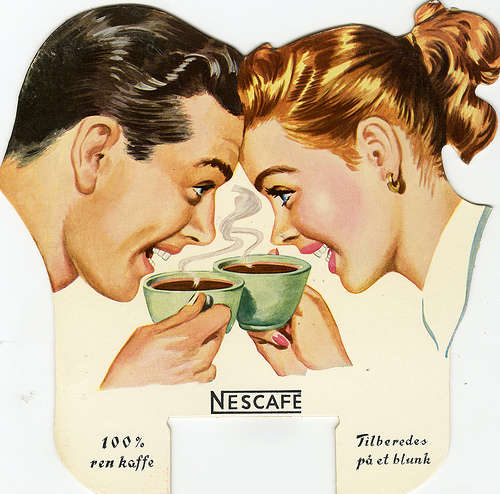 Nescafe's 75th year anniversary