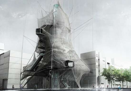 Cocooned Architecture