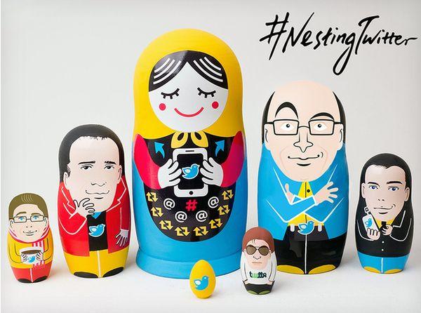 Social Media Matryoshka Dolls