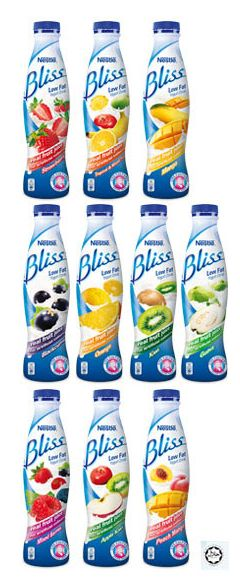 Blissful Yogurt Beverages