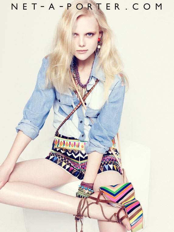 Net-a-Porter Spring 2012 lookbook