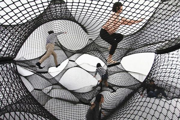 Inflatable Interactive Installations